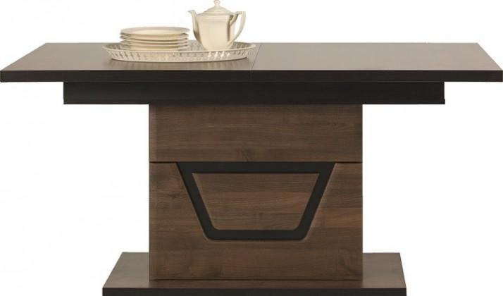Jídelní stůl Tes - Jídelní stůl (ořech, korpus a fronty)