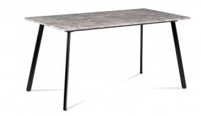 Jídelní stůl Torres (beton, černá)