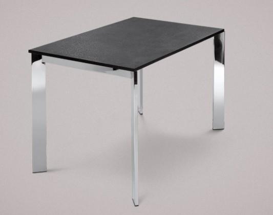 Jídelní stůl Universe-110 - Jídelní stůl (chrom, lamino břidlice)