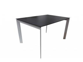 Jídelní stůl Universe 130 (bílá, wenge)