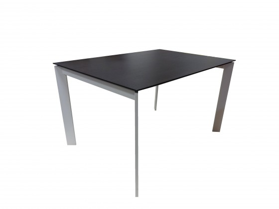 Jídelní stůl Universe 130 - Jídelní stůl (bílá, wenge)