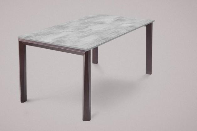 Jídelní stůl Universe-130 - Jídelní stůl (wenge, lamino cement)