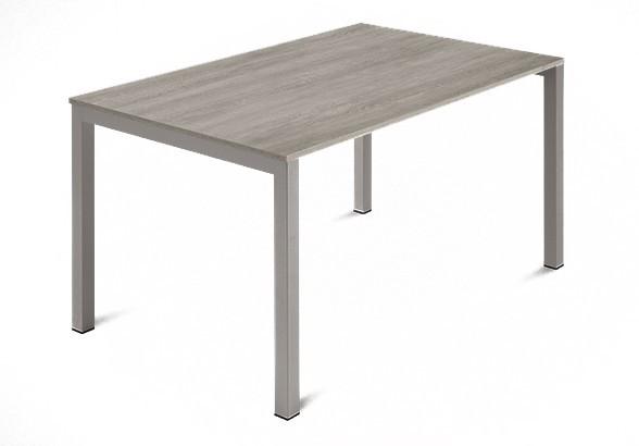 Jídelní stůl Web - 120 cm (kostra ocel písková/deska melamin antický dub)