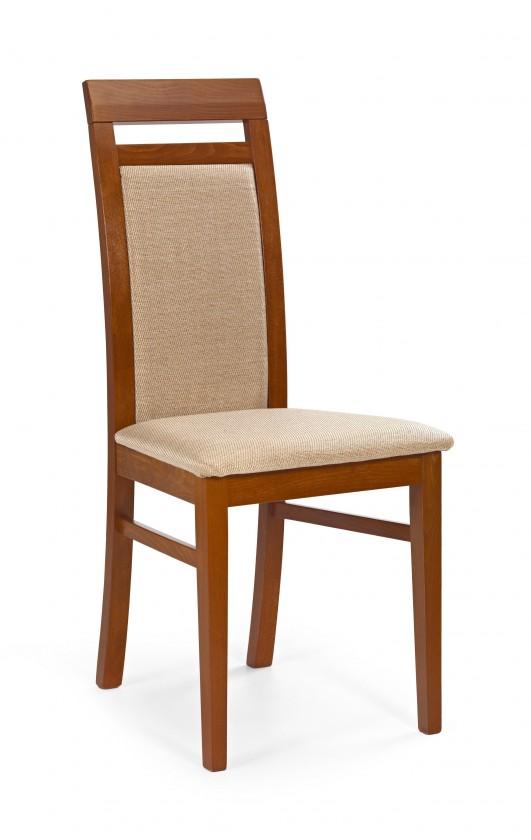 Jídelní židle Albert - jídelní židle (casilda bežová, třešeň antik)