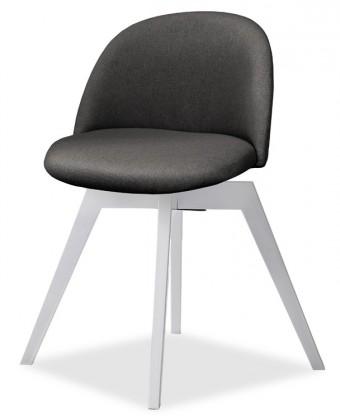 Jídelní židle ALLY 9368-215+BESS 9347-001 (antracit,bílá)