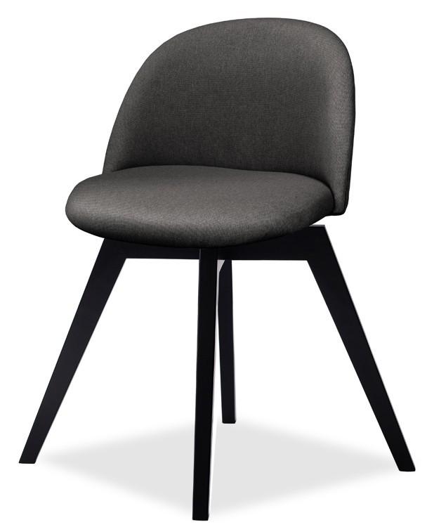 Jídelní židle ALLY 9368-215+BESS 9347-024 (antracit,černá)