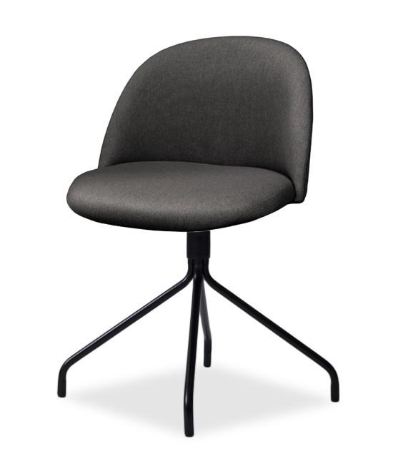 Jídelní židle ALLY 9368-215+EGO 9319-824 (antracit,černá)