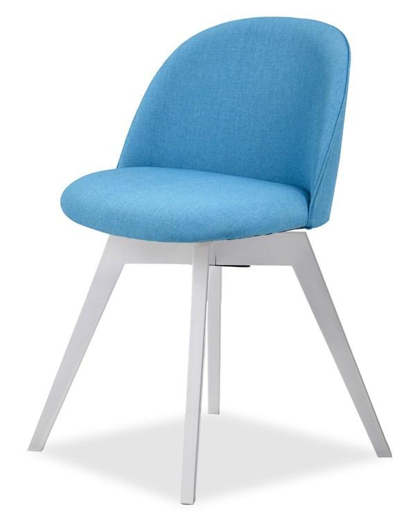Jídelní židle ALLY 9368-220+BESS 9347-001 (tyrkys,bílá)