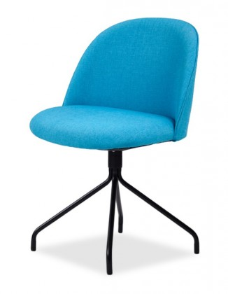 Jídelní židle ALLY 9368-220+EGO 9319-824 (tyrkys,černá)