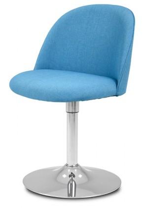 Jídelní židle ALLY 9368-220+TRUMPET 9341-091 (tyrkys,chrom)