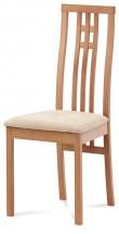 Jídelní židle Alora krémová, buk