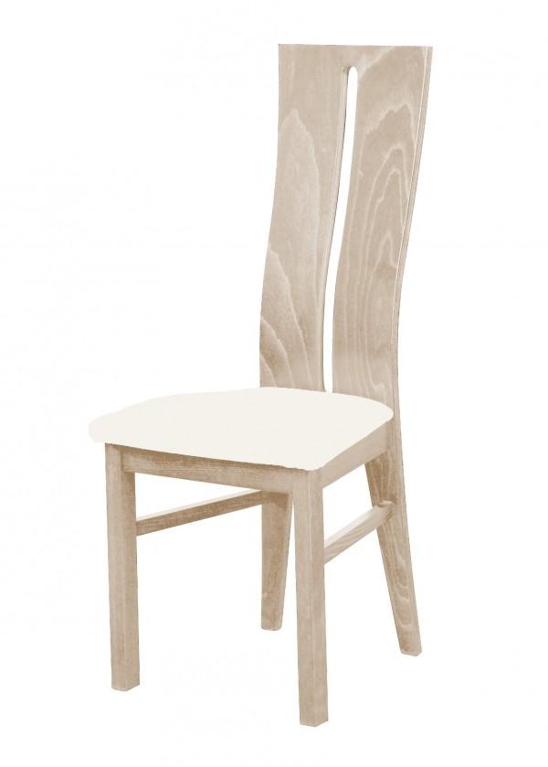 Jídelní židle Andre I - jídelní židle (dřevo - dub sonoma/potah - látka)