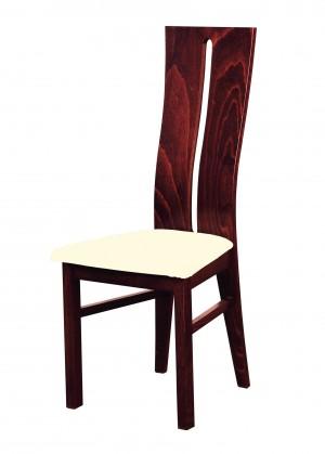 Jídelní židle Andre I - jídelní židle (dřevo - sołtysiak/potah - látka)