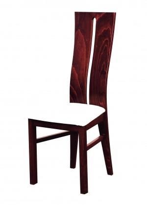 Jídelní židle Andre I - jídelní židle (dřevo - sołtysiak/potah - syntetická kůže)