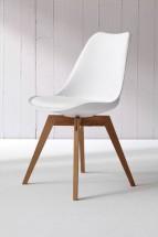 Jídelní židle Bess bílá