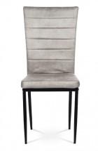 Jídelní židle Borge lanýžová/černá