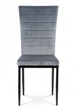 Jídelní židle Borge šedá/černá