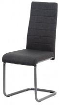 Jídelní židle Chip šedá/černá