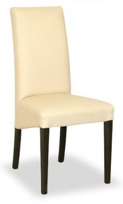 Jídelní židle Corina (wenge/eko kůže elektra, béžová)