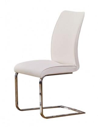 Jídelní židle Cornelio - Jídelní židle (tmavý krém)