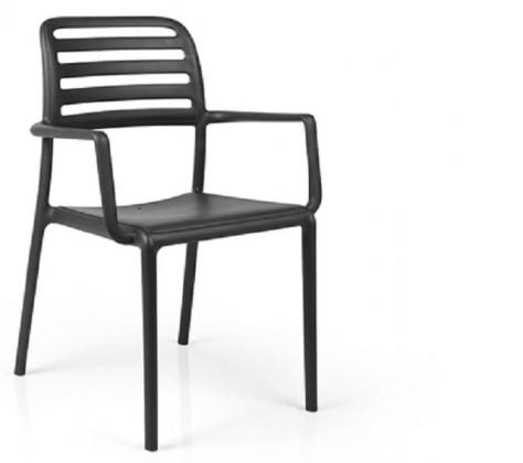 Jídelní židle Costa křesílko(antracite)