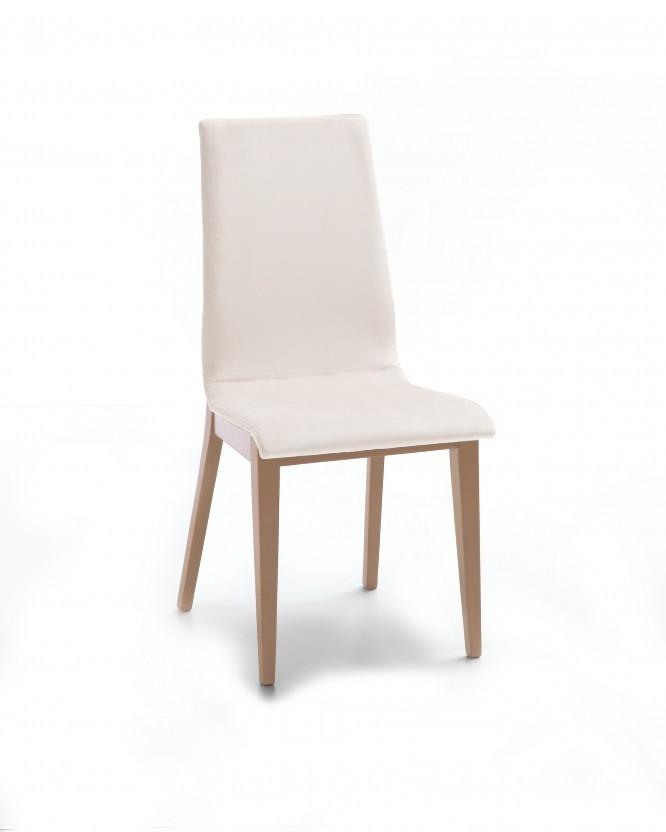 Jídelní židle Cruz (dub / látka antara krémová)