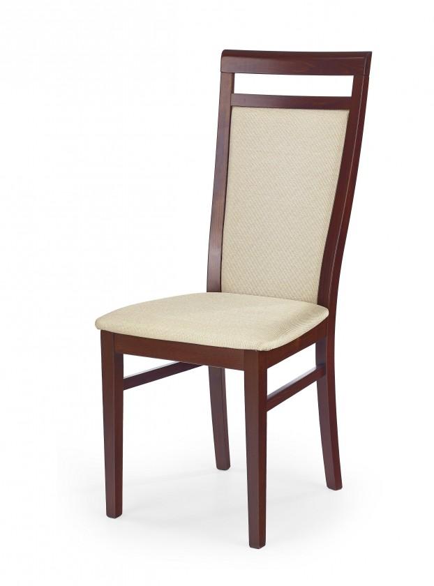 Jídelní židle Damian - Jídelní židle (béžová, třešeň)