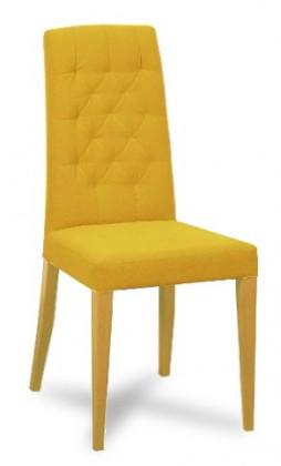 Jídelní židle Dariva (jasan/látka antara okrová)