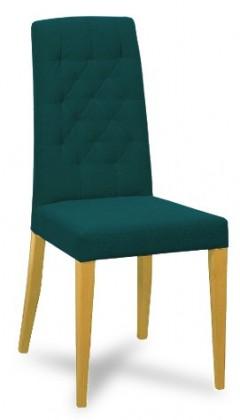 Jídelní židle Dariva (jasan/látka antara potrolejová)