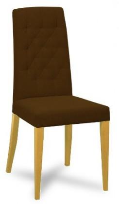 Jídelní židle Dariva (jasan/látka antara tmavě  hnědá)