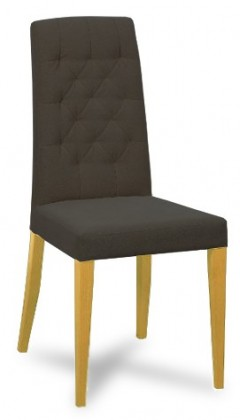 Jídelní židle Dariva (jasan/látka antara tmavě šedá)