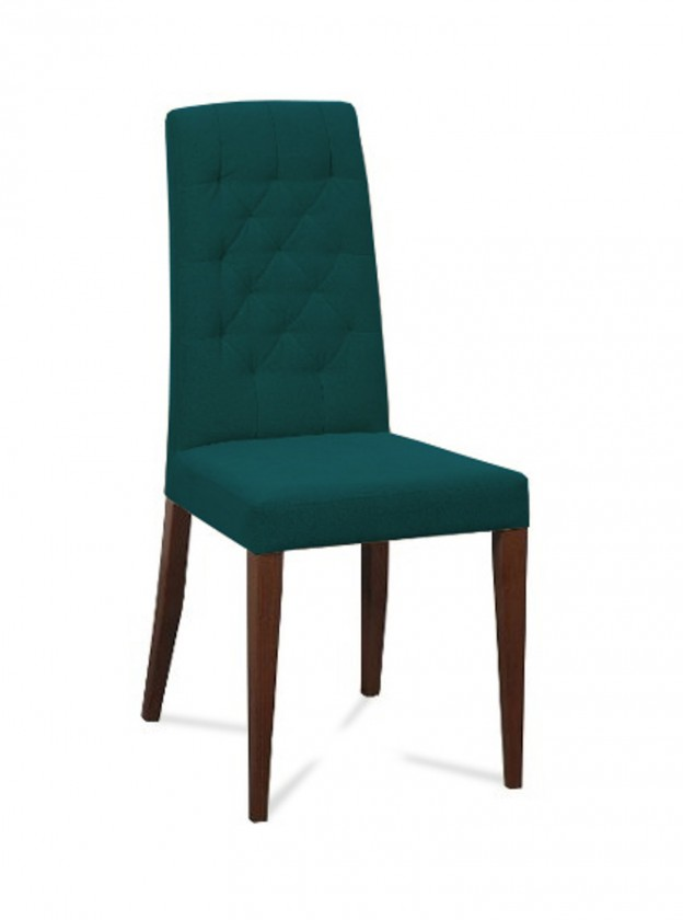 Jídelní židle Dariva (jasan/látka navara petrolejová)