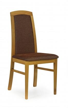 Jídelní židle Dominik - jídelní židle (torrent hnědá, olše)