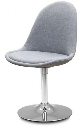 Jídelní židle Donna 9363-213+TRUMPET 9341-091 (šedá,chrom)