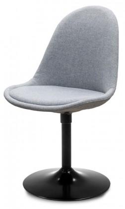 Jídelní židle Donna 9363-213+TRUMPET 9341-824 (šedá,černá)