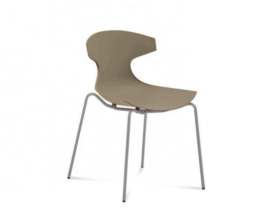 Jídelní židle Echo - Jídelní židle (hliník, písková)