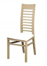 Jídelní židle Eryka (dřevo - dub sonoma/potah - syntetická kůže)