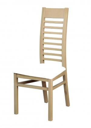 Jídelní židle Eryka - jídelní židle (dřevo - dub sonoma/potah - syntetická kůže)
