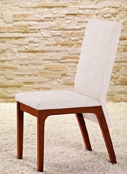 Jídelní židle Fabrizio - Jídelní židle (třešeň/eko kůže krémová)