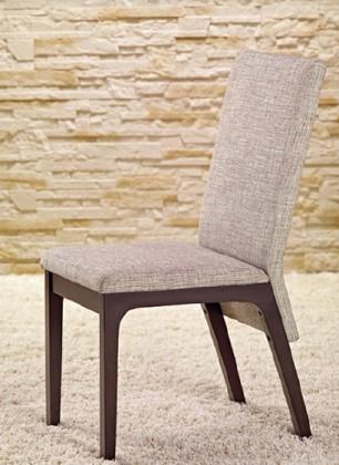 Jídelní židle Fabrizio - Jídelní židle (wenge/šedá)