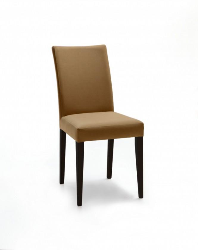 Jídelní židle Fernanda (černá / látka antara béžová)