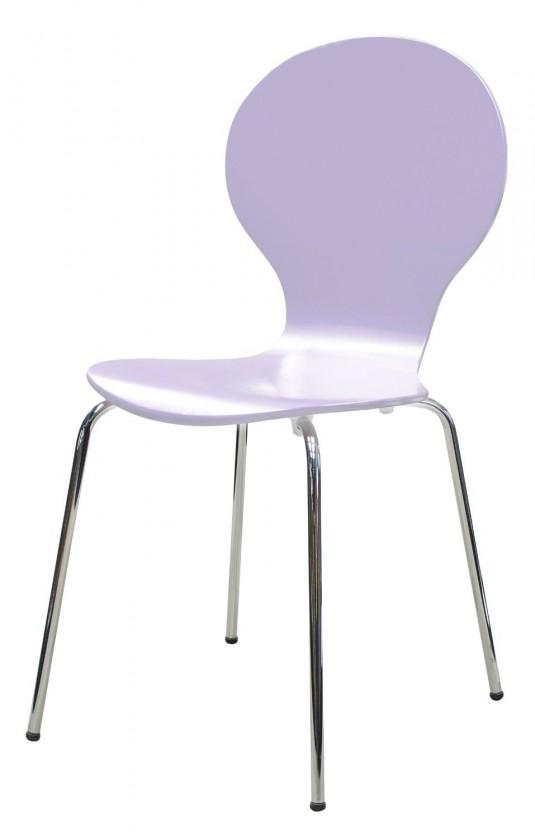 Jídelní židle Flower - Jídelní židle (lila)