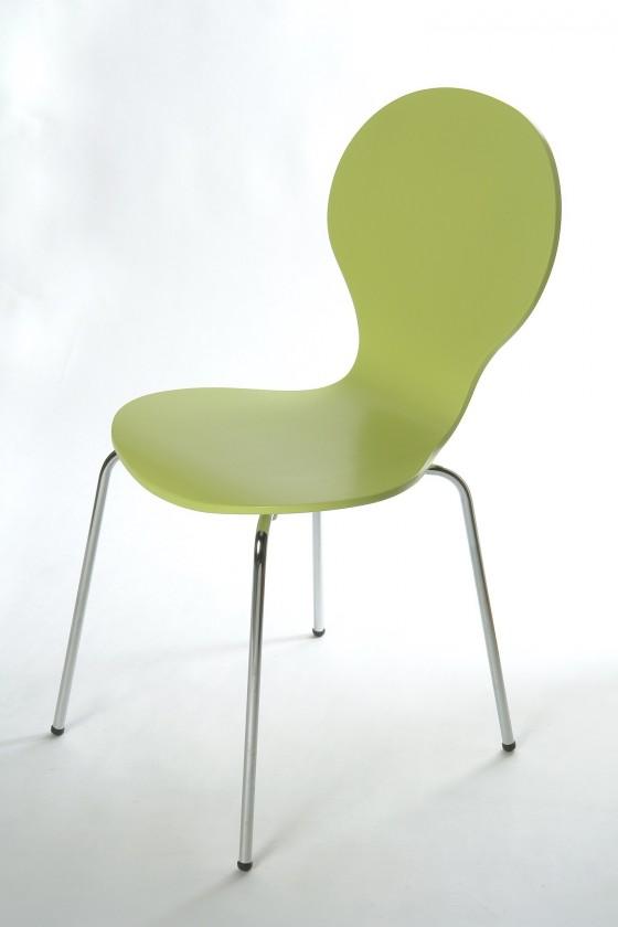 Jídelní židle Flower - Jídelní židle (limetková)
