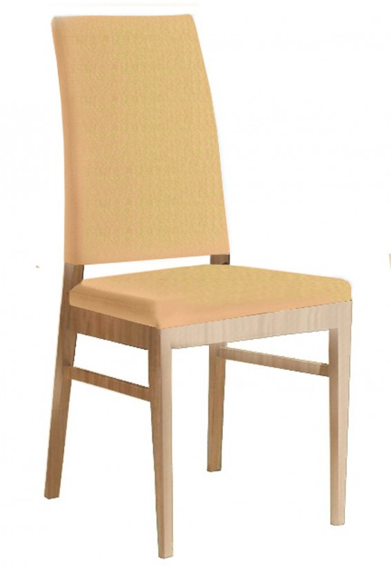 Jídelní židle Genosa  (dub/antara béžová)