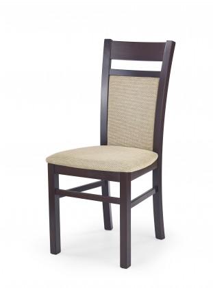 Jídelní židle Gerard 2 - Jídelní židle (béžová, ořech)
