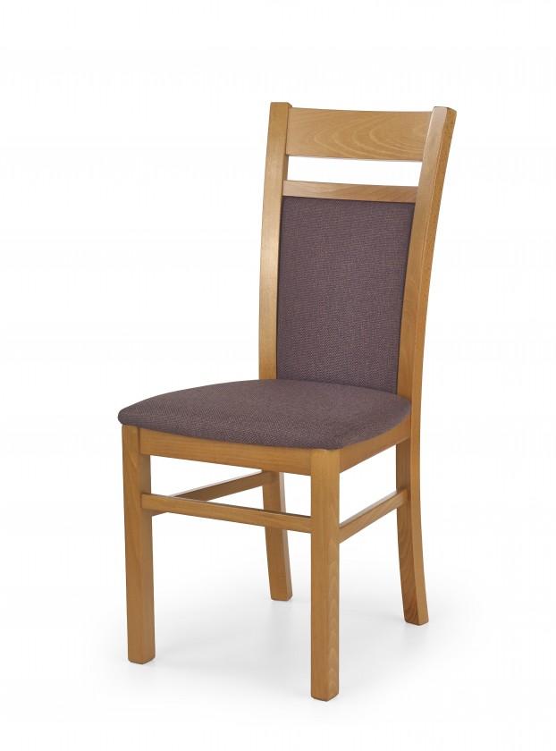 Jídelní židle Gerard 2 - Jídelní židle (tmavě hnědá, olše)