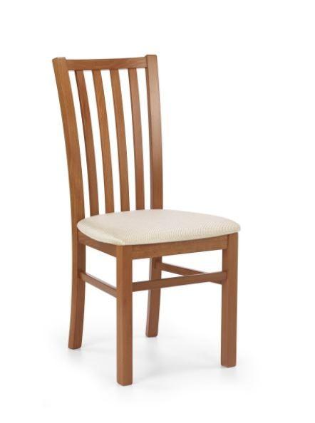 Jídelní židle Gerard 7  (béžová casilda bez, třešeň antik)