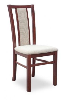 Jídelní židle Gerard 8  (béžová torent beige, ořech tmavý)
