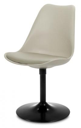 Jídelní židle GINA 9301-883+TRUMPET 9341-824 (béžová,černá)