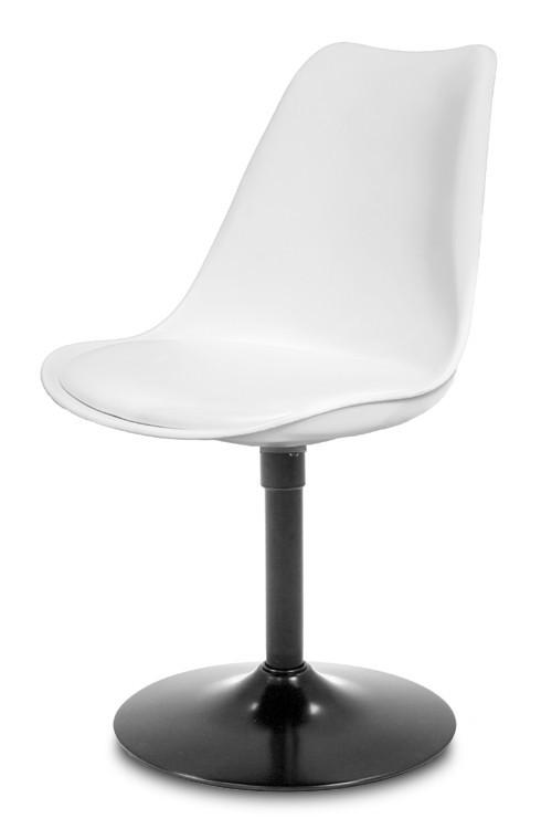 Jídelní židle GINA 9361-801+TRUMPET 9341-824 (bílá,černá)